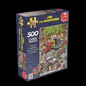 Puzzel 500 stukjes Verkeerschaos - Jan van Haasteren Jumbo