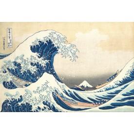 Puzzel 150 stukjes Micropuzzel The Wave - Katsushika Hokusai Londji