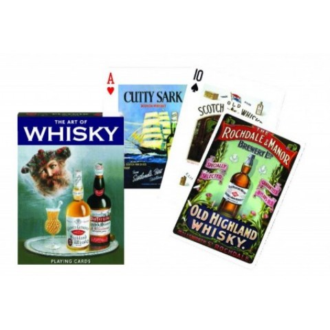 Spel Whisky Speelkaarten - Single Deck Piatnik