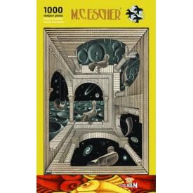 Puzzel 1000 stukjes Andere Wereld M.C. Escher Puzzelman