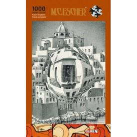 Puzzel 1000 stukjes Balkon - M.C. Escher Puzzelman