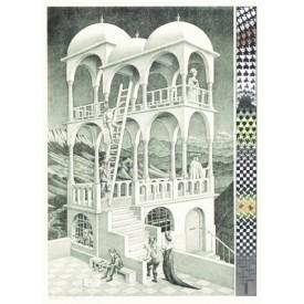 Puzzel 1000 stukjes Belverdere M.C. Escher Puzzelman