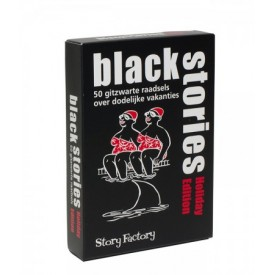 Spel Black Stories Holiday Edition Tucker's Fun Factory