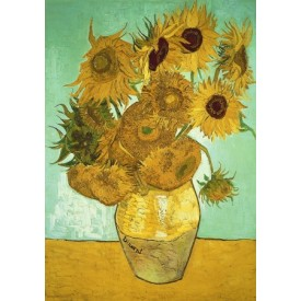 Puzzel 140 stukjes Sunflowers - Vincent van Gogh wentworth