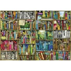 Puzzel 140 stukjes Bookshelf - Colin Thompson Wentworth