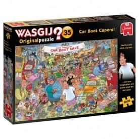 Puzzel 1000 stukjes Wasgij Original 35 - Car Boot Capers Wasgij
