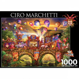 puzzel 1000 stukjes Carnivalle Parade Ciro Marchetti Puzzelman