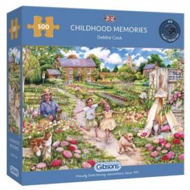 Puzzel 500 stukjes Childhood Memories Gibsons