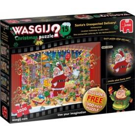 Puzzel 2 x 1000 stukjes Wasgij Christmas 15 2 in 1 Wasgij