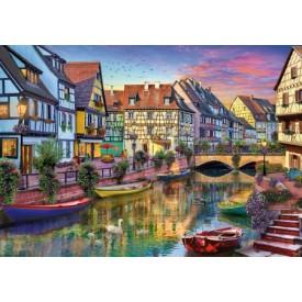 Puzzel 40 stukjes Colmar Canal - David Maclean Wentworth
