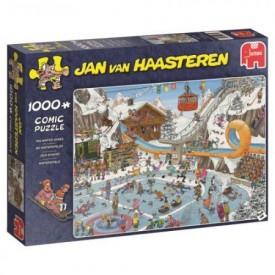 Puzzel 1000 stukjes De Winterspelen Jan van Haasteren