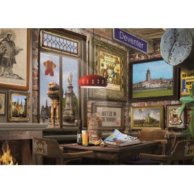 Puzzel 1000 stukjes Deventers Café Tucker's Fun Factory