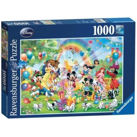 Puzzel 1000 stukjes Disney Mickey is jarig Ravensburger