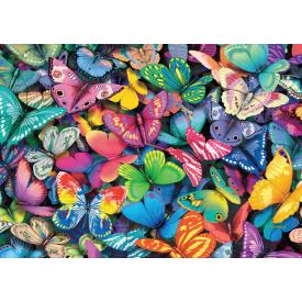 Puzzel 500 stukjes Double-Trouble Puzzle Butterflies Tucker's Fun Factory