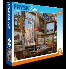 Puzzel 1000 stukjes Frysk Kafee Trucker's Fun Factory