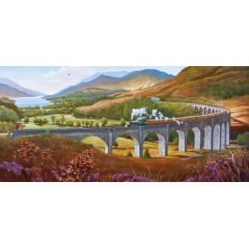 Puzzel 636 stukjes Glenfinnan Viaduct Gibsons