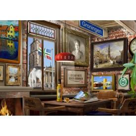 Puzzel 1000 stukjes Gronings Café Tucker's Fun Factory