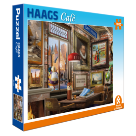 Puzzel 1000 stukjes Haags Café Tucker's Fun Factory