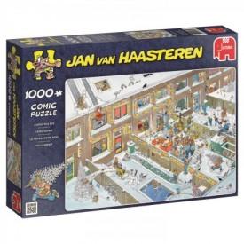 Puzzel 1000 stukjes Kerstavond Jan van Haasteren