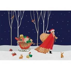 Puzzel 250 stukjes Santa's Big Night - Sue Waddicor Wentworth