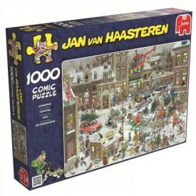 Puzzel 1000 stukjes Kerstmis Jan van Haasteren