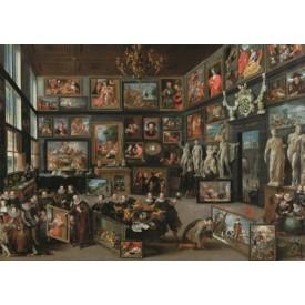 Puzzel 1000 stukjes Kunstgallerij Willem van Haecht Rubenshuis Puzzelman