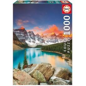 Puzzel 1000 stukjes Lake Moraine - Banff National Park Canada Educa