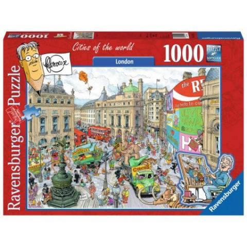 Puzzel 1000 stukjes London, Fleroux Ravensburger