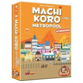 Spel Machi Koro: Metropool White Goblin