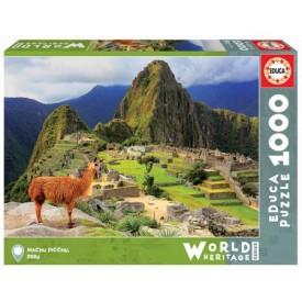 Puzzel 1000 stukjes Machu Picchu Peru Educa
