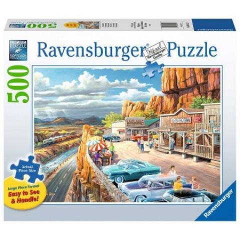 Puzzel 500 XXL stukjes Mooi Uitzicht Ravensburger
