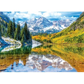 Puzzel 1000 stukjes Rocky Mountain National Park Eurographics