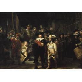 Puzzel 1000 stukjes De Nachtwacht Rembrandt van Rijn Puzzelman