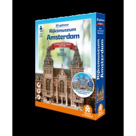 Puzzel 3D 134 stukjes Rijksmuseum Amsterdam Tucker's Fun Factory