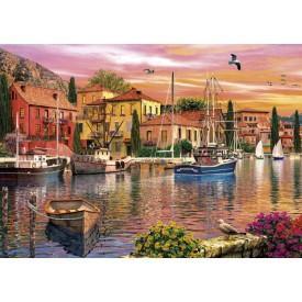 Puzzel 2 x 500 stukjes Sails at Sunset Gibsons