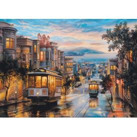 Puzzel 1000 stukjes San Francisco Cable Car Heaven Eurographics