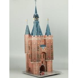 Puzzel 3D 90 stukjes Sassenpoort Zwolle Tucker's Fun Factory