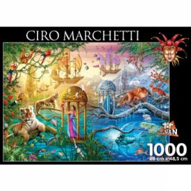 puzzel 1000 stukjes Shangri La Ciro Marchetti Puzzelman