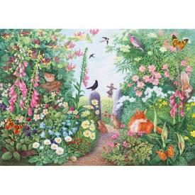 Puzzel 40 stukjes Summer Hedgerow - Anne Searle Wentworth