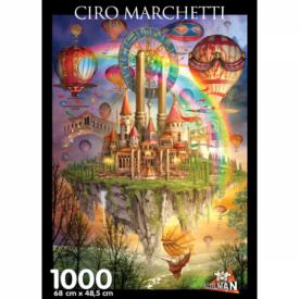 Puzzel 1000 stukjes Tarot Town Ciro Marchetti Puzzelman