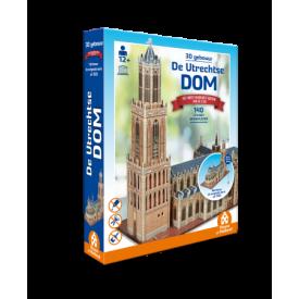 Puzzel 3D 140 stukjes De Utrechtse dom Tucker's Fun Factory
