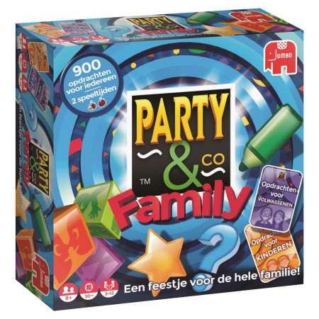 Spel Party & Co Family Jumbo